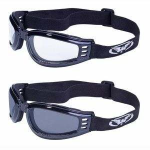 2 Skydive Horseback Motorcycle Riding Goggles Quad